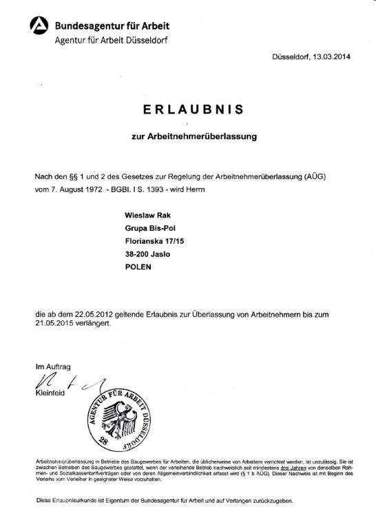 german certificate